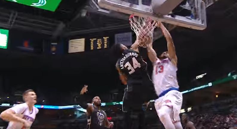 Les Knicks étaient déterminés à faire payer Giannis Antetokounmpo