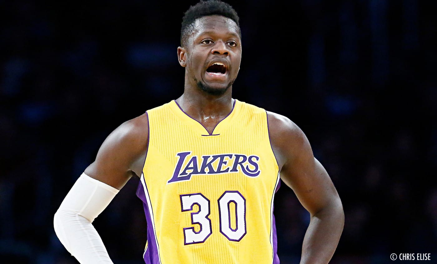 Julius Randle pas convaincu d'être une priorité pour les Lakers