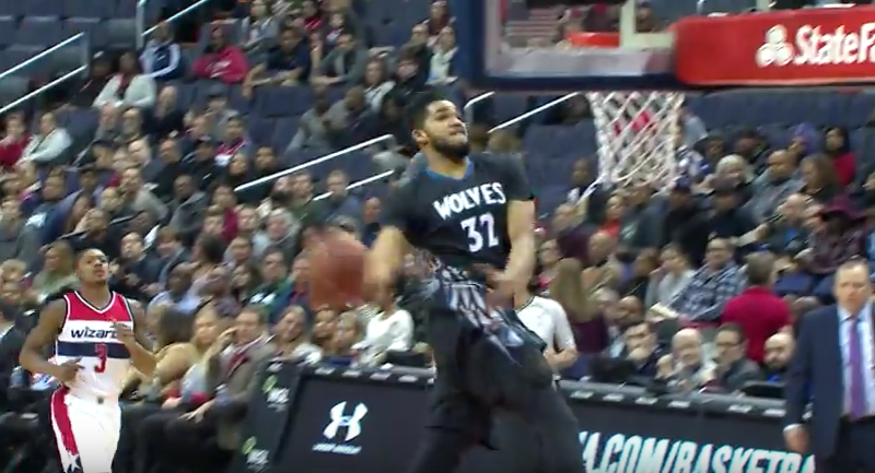 Top 10 : Le moulin de Karl-Anthony Towns !