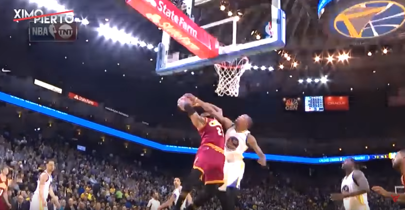 Kevin Durant a mis un sacré stop à LeBron James !