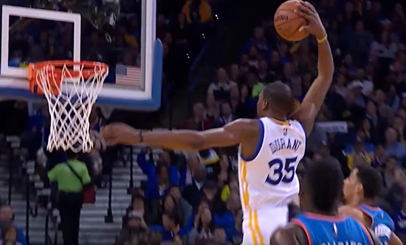 Le moment Shaqtin' A Fool de Kevin Durant