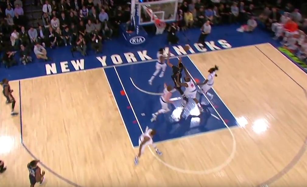 Carmelo Anthony et Kyle O'Quinn craquent et se font expulser