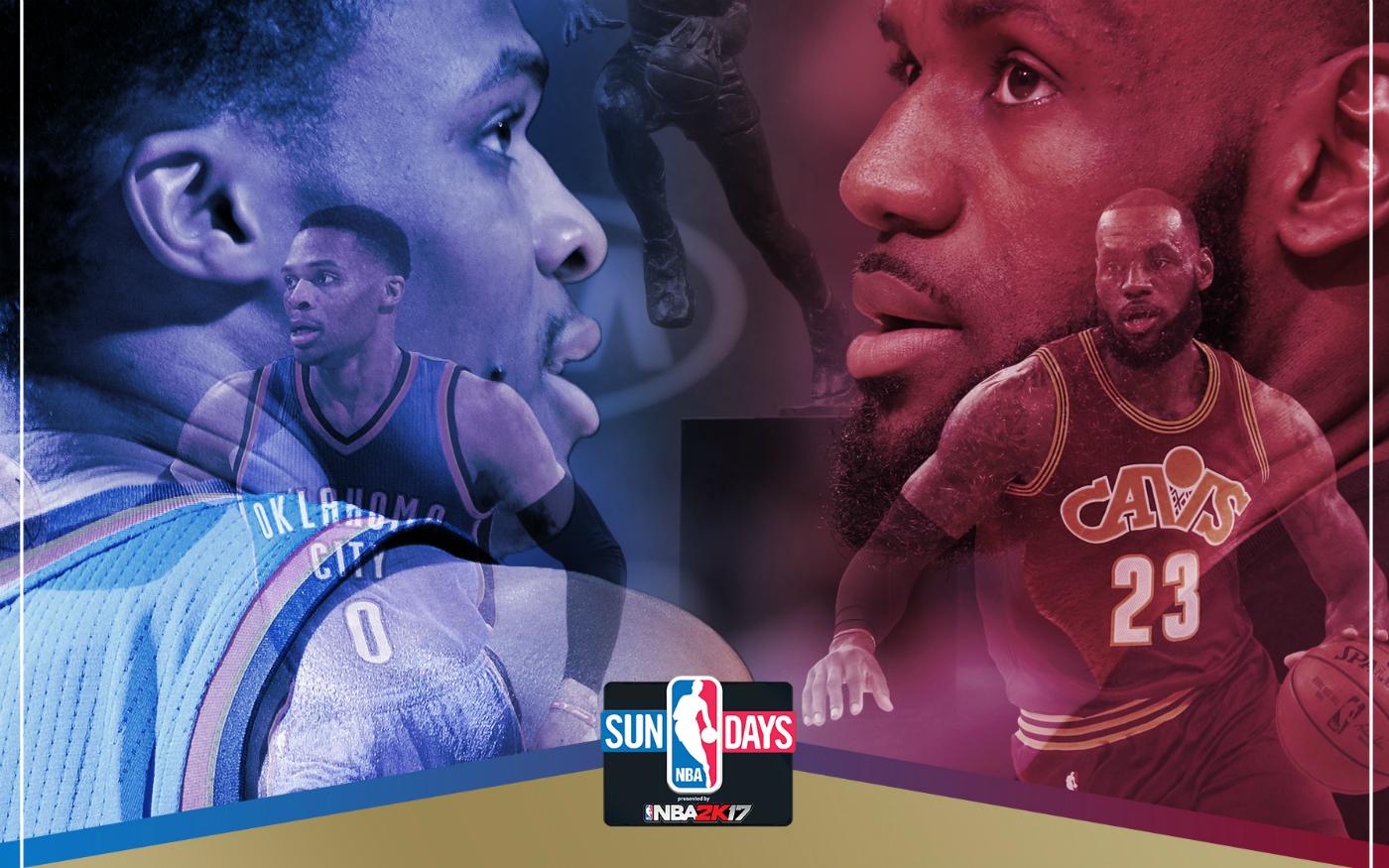 NBA Sunday : LeBron vs Westbrook, un choc de poids lourds