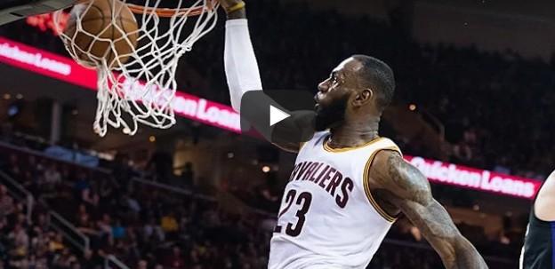 Top 10 : Le doublé pour LeBron James !