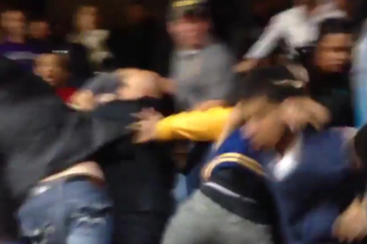 Un match de lycée dégénère complètement dans l'Ohio