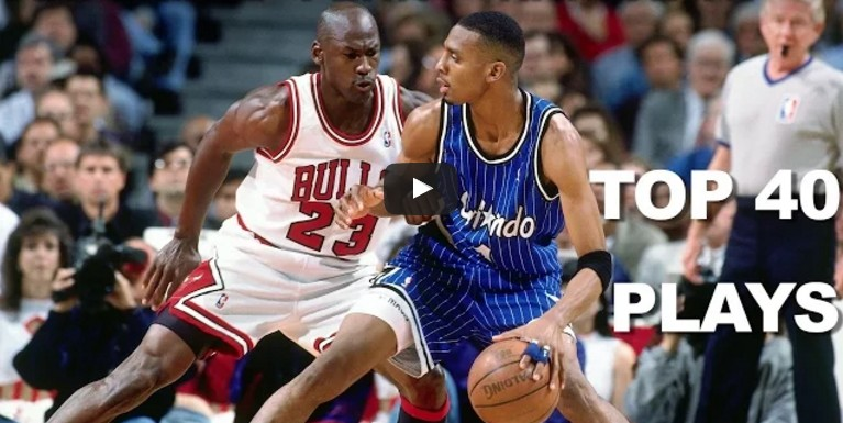 Vintage : le Top 40 de Penny Hardaway avec le Magic