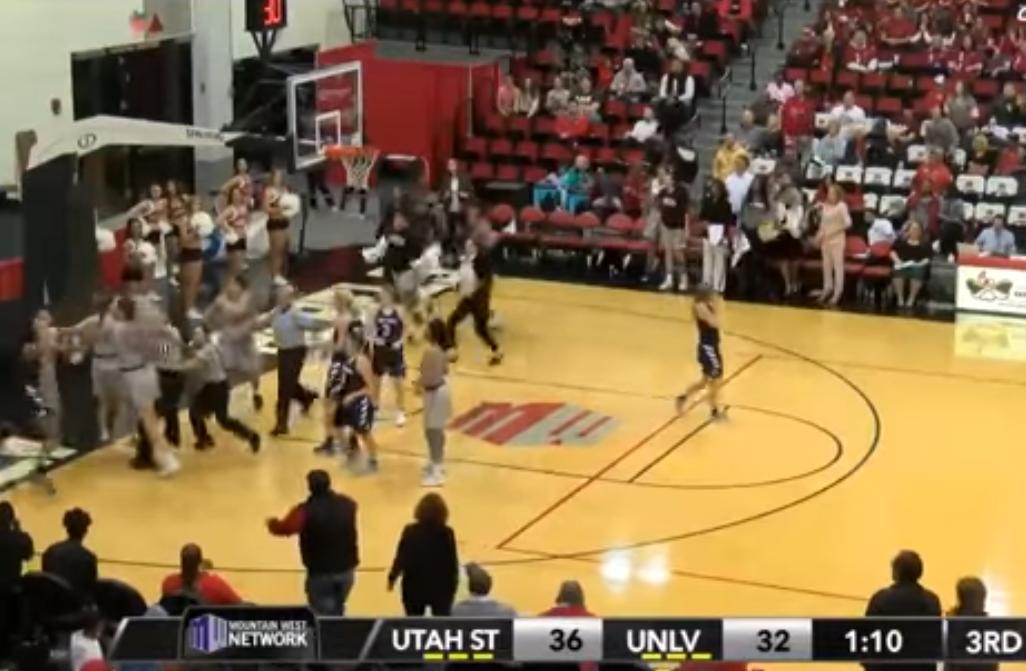 NCAA : Un match féminin dégénère en bagarre
