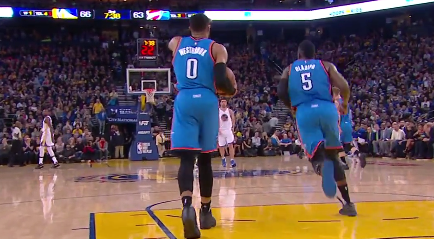 Shaqtin'a Fool : Westbrook remporte l'award du plus gros fail
