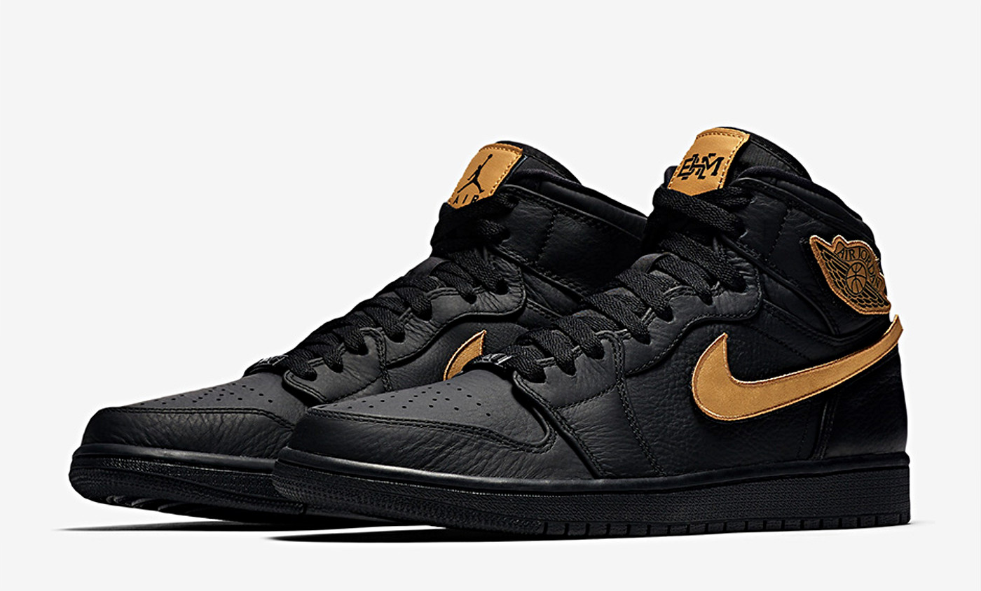 Une Air Jordan 1 Retro High OG BHM