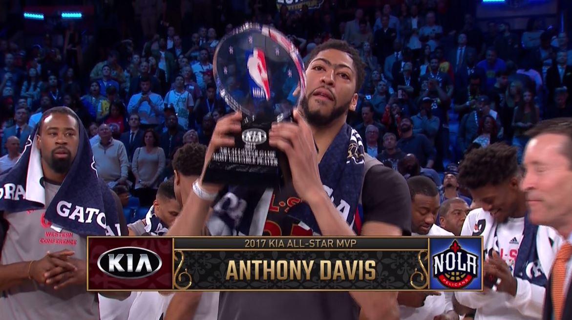 All-Star Game : Anthony Davis MVP historique chez lui, l'Ouest se balade !