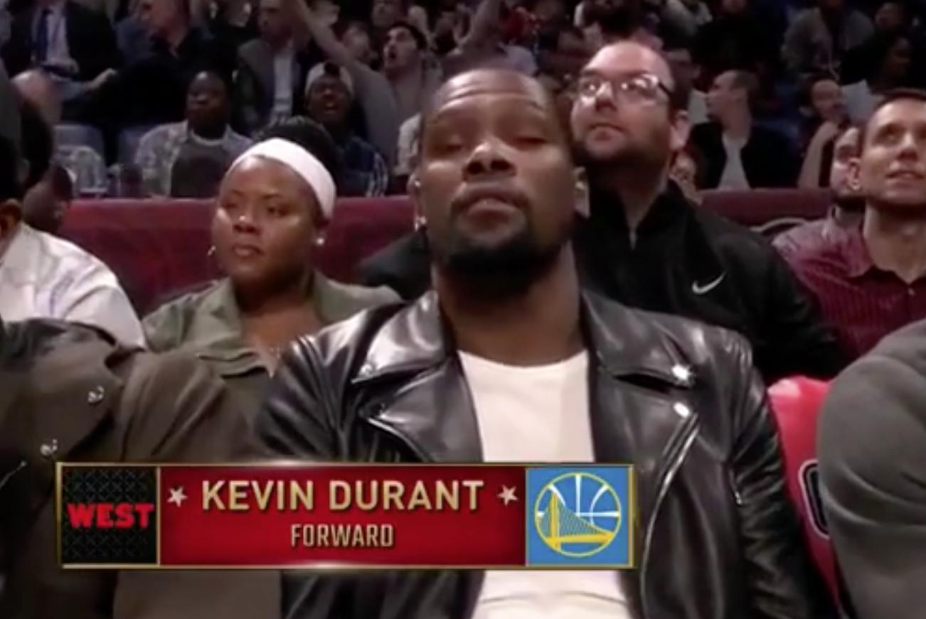 Malaise : Kevin Durant n'a pas kiffé être présenté comme venant d'OKC