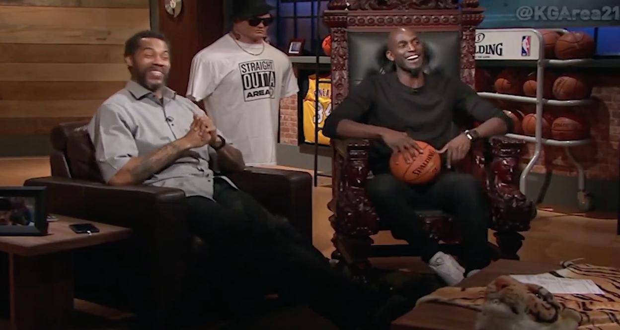 Garnett et Sheed parlent des «tough guys» de la NBA