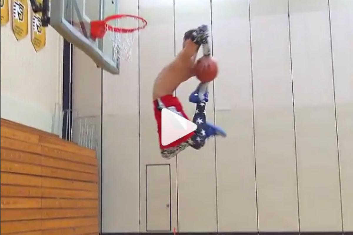 Le frère de Jordan Kilganon sort un dunk insensé !