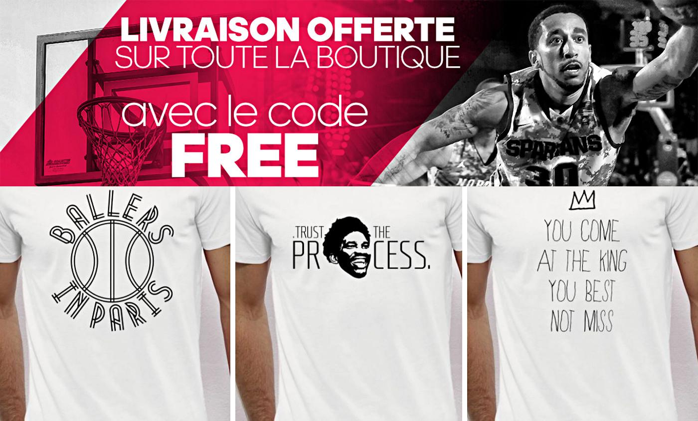 Bon plan : Livraison offerte sur tous nos t-shirts !