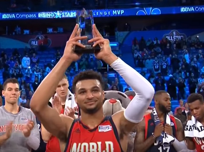 Rising Stars Challenge : Jamal Murray flambe, la Team World tient sa revanche