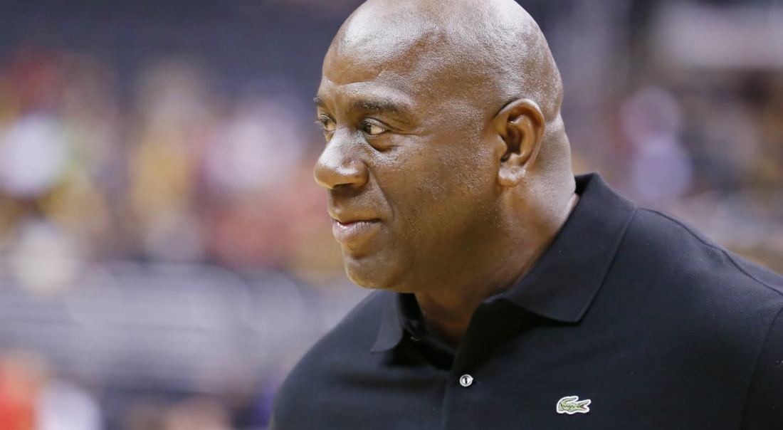 Magic Johnson, un premier mouvement qui donne le ton !