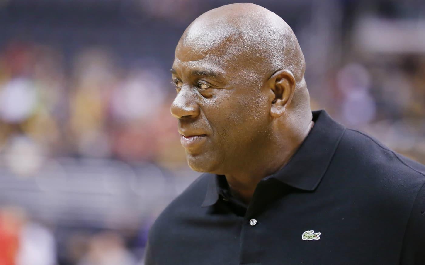 Magic Johnson désigne le futur leader des Lakers