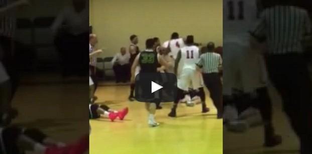 NCAA : Il détruit un adversaire et passe la nuit au poste...