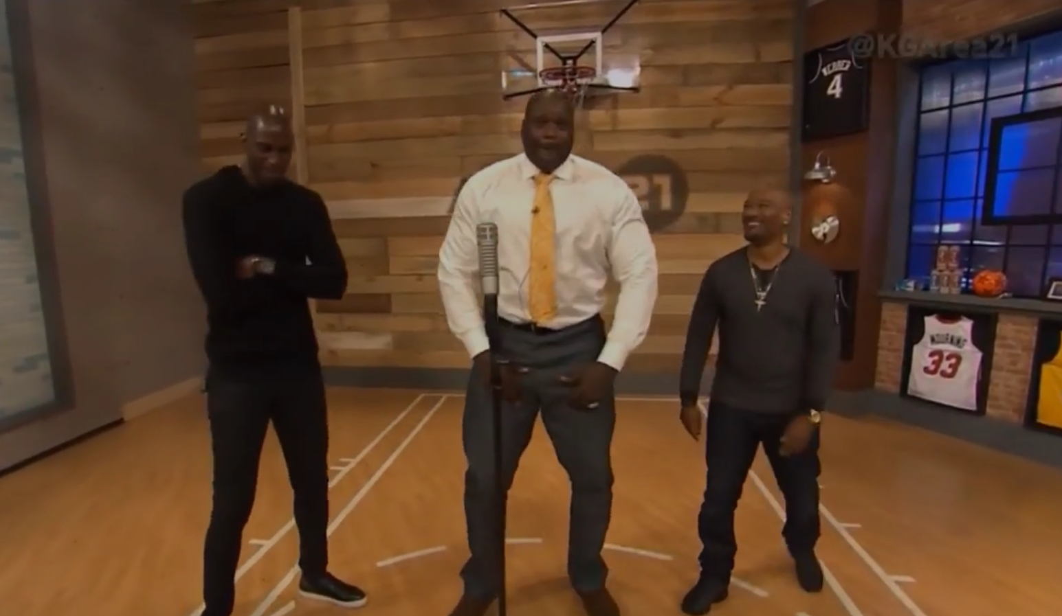 Rap : Shaq part en freestyle au QG de Kevin Garnett
