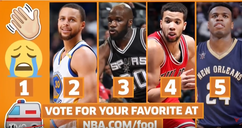 Shaqtin A Fool : Du chat-bite, des handshakes et Michael Carter-Williams