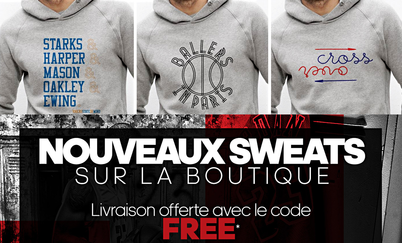 Une toute nouvelle collection de sweats basket