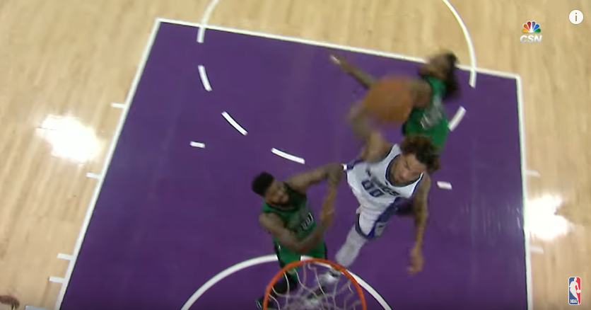 Le alley-oop hallucinant de Willie Cauley-Stein, l'action de la soirée