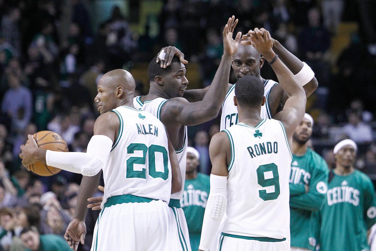 Rajon Rondo et les Celtics vont célébrer le titre 2008... sans Ray Allen !