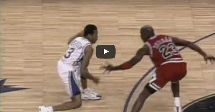 Il y a 22 ans, Allen Iverson crossait Michael Jordan