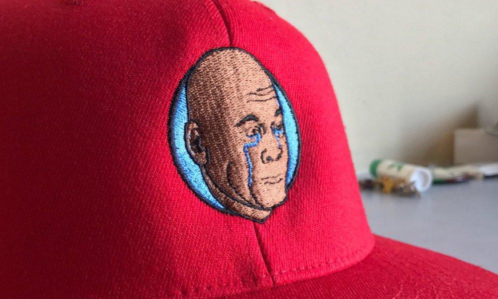 Le Crying Jordan devient l'emblème d'une équipe de softball