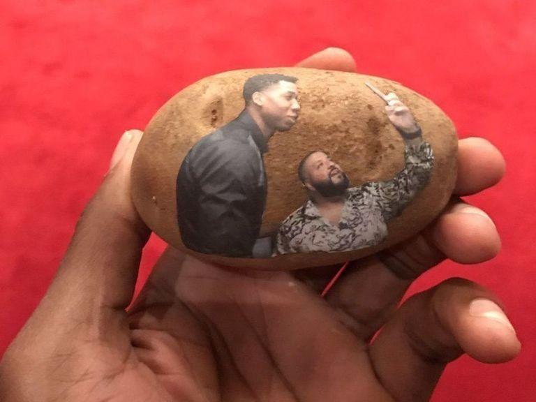 Hassan Whiteside a lui aussi reçu une pomme de terre avec sa tête dessus