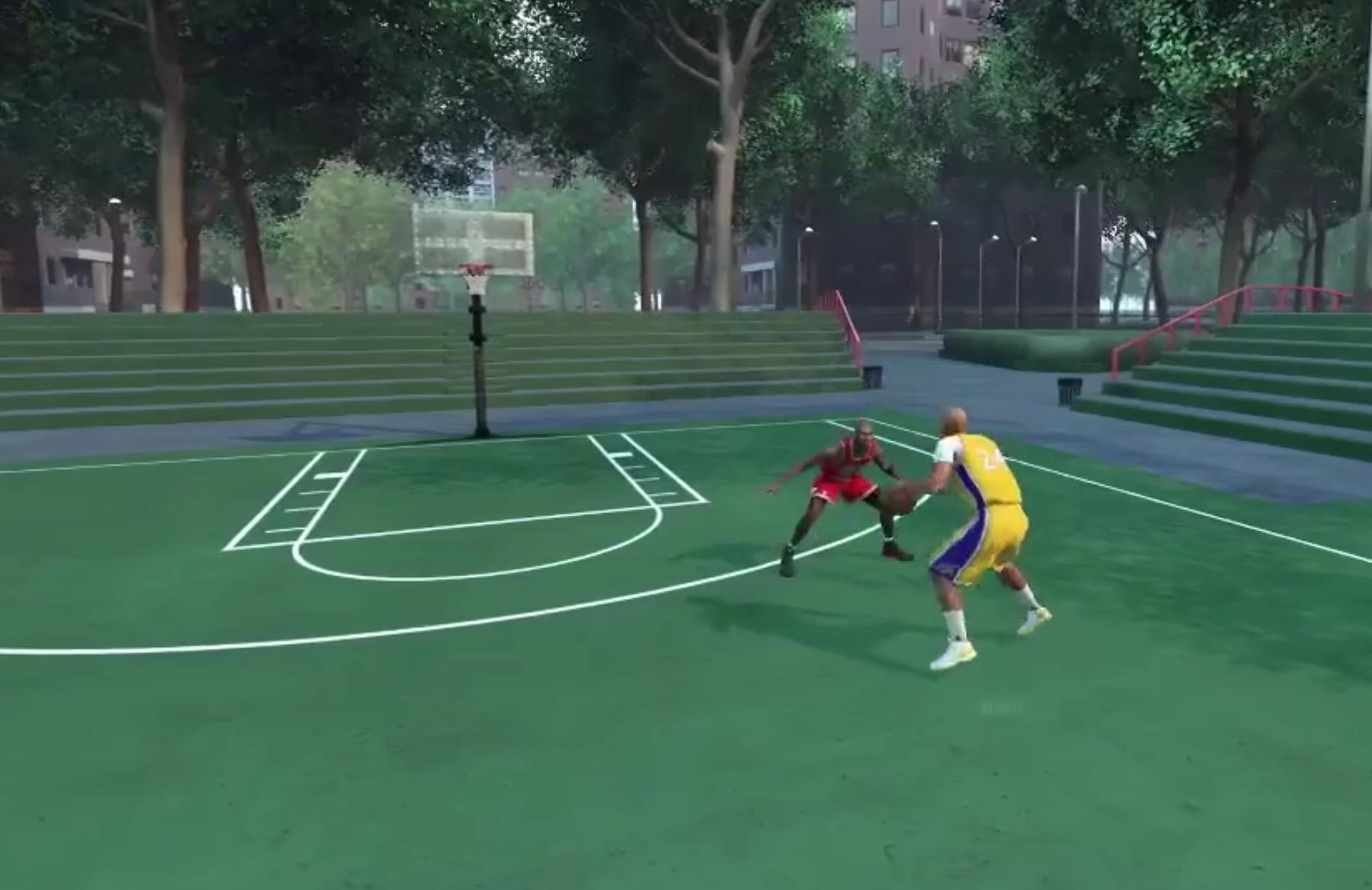 Voilà ce que donnerait Michael Jordan vs LaVar Ball... sur NBA 2K