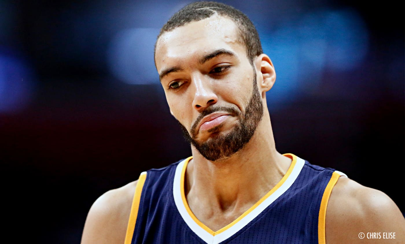 Le superbe « and one » de Rudy Gobert