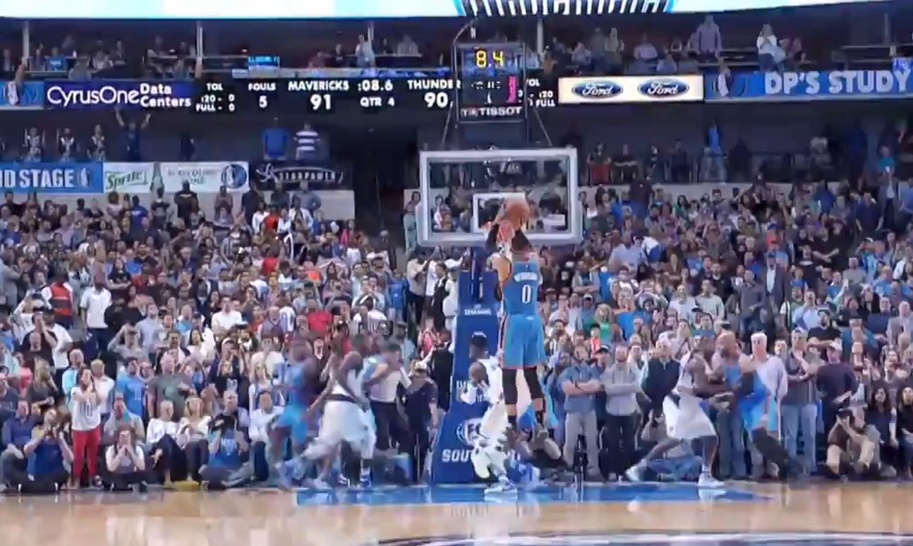 Game Winner : Russell Westbrook a plombé les Mavericks