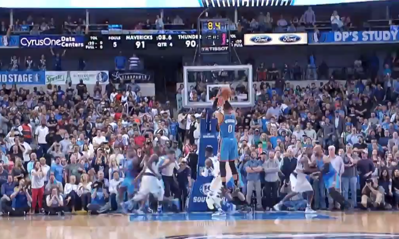 Game Winner : Russell Westbrook a plombé les Mavericks