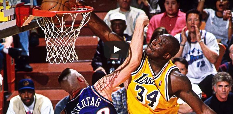 Mixtape : Le meilleur de Shaquille O'Neal aux Lakers