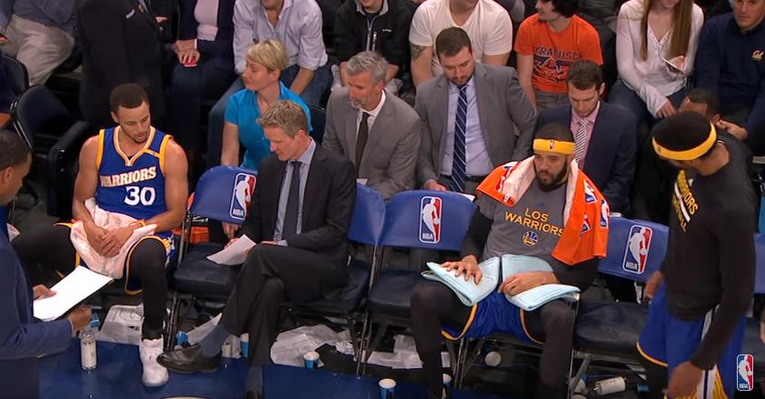 Déjà culte : L'excellent coaching de Steve Kerr avec Stephen Curry