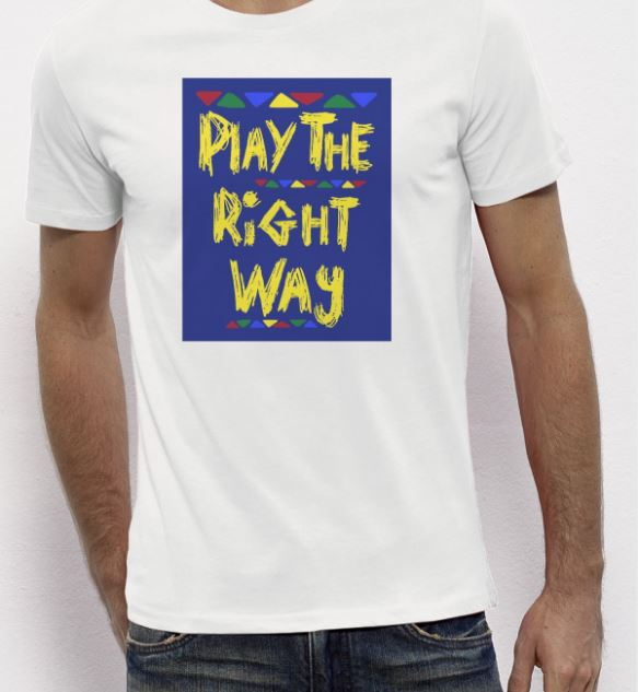 T-Shirt-Play-The-Right-Way