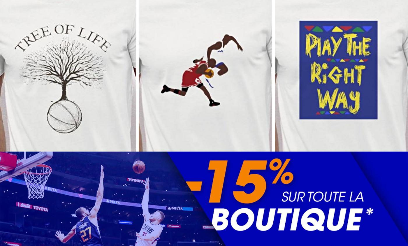 15% de réduction sur tous nos sweats et t-shirts !