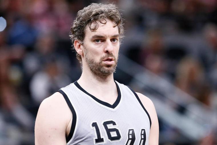Pau Gasol ciblé par les Detroit Pistons