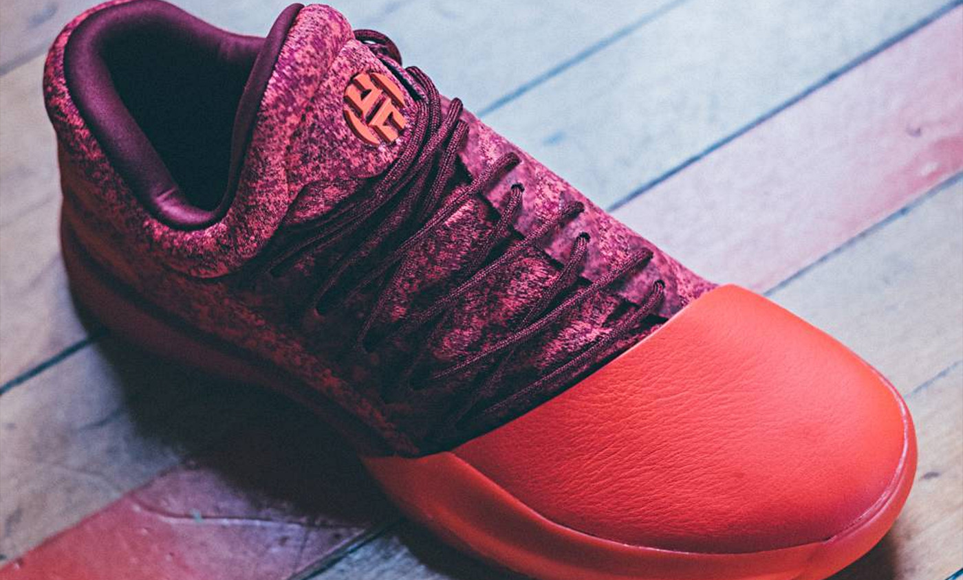 adidas Harden Vol. 1 Red Glare : Red is not dead