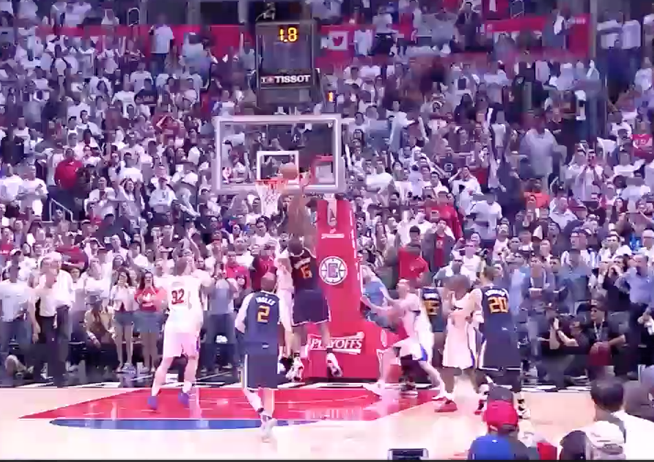 Le buzzer-beater de Joe Johnson face aux Clippers