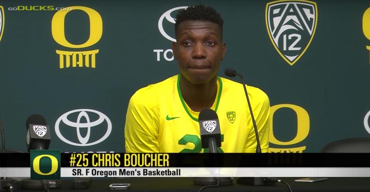 Chris Boucher n'a pas respecté les règles de confinement des Raptors