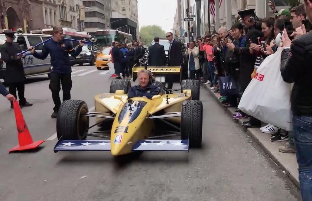 ASG 2021: Larry Bird débarque à New York... en IndyCar !