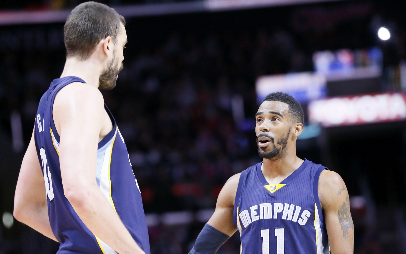 Les Grizzlies font chuter les Spurs grâce à leur trio historique
