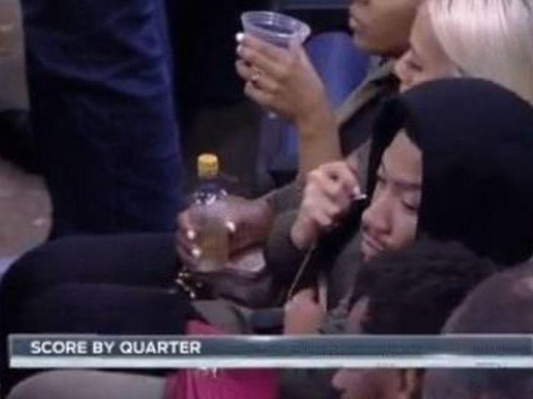 Derrick Rose présent au match Grizzlies - Spurs (presque en cachette)