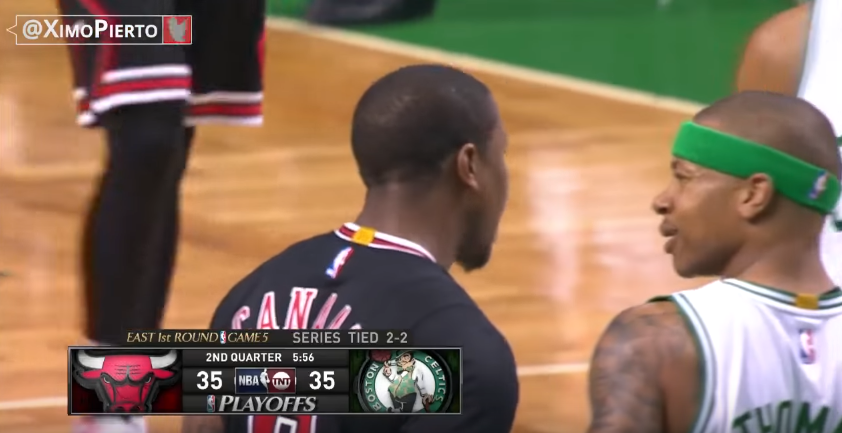 Combat poids plumes : Isaiah Thomas et Isaiah Canaan se chauffent