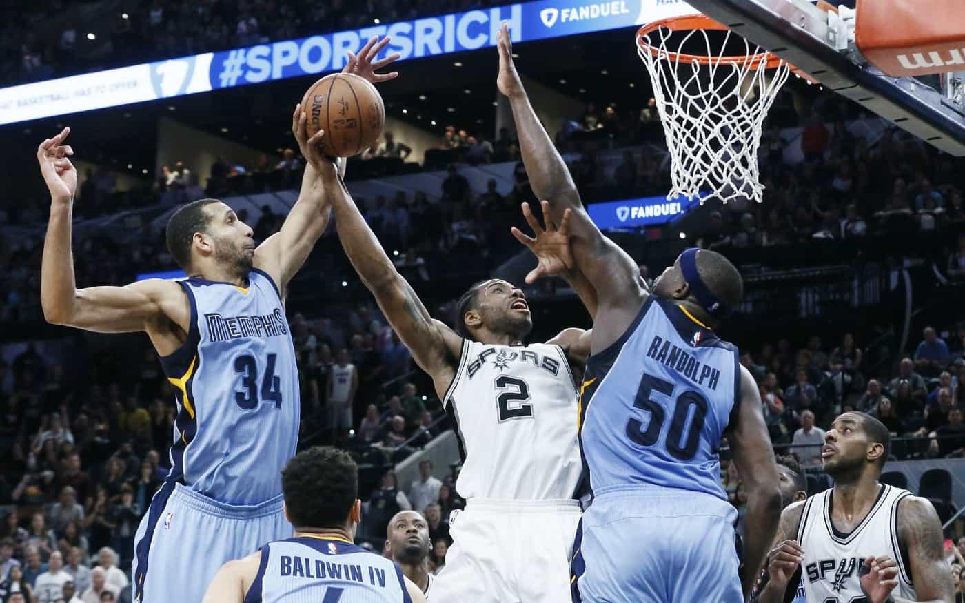 Kawhi Leonard et les Spurs encore trop forts pour Memphis
