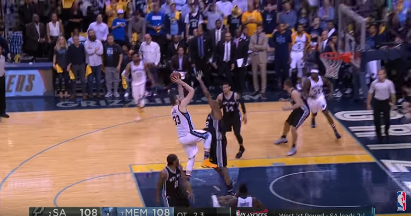 Game winner : Marc Gasol plombe LaMarcus Aldridge et les Spurs