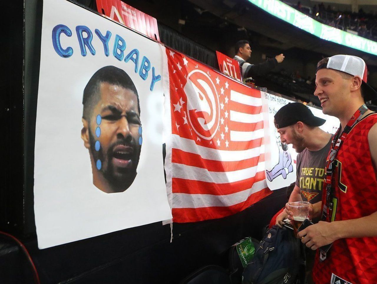 Les fans d'Atlanta trollent parfaitement Markieff Morris