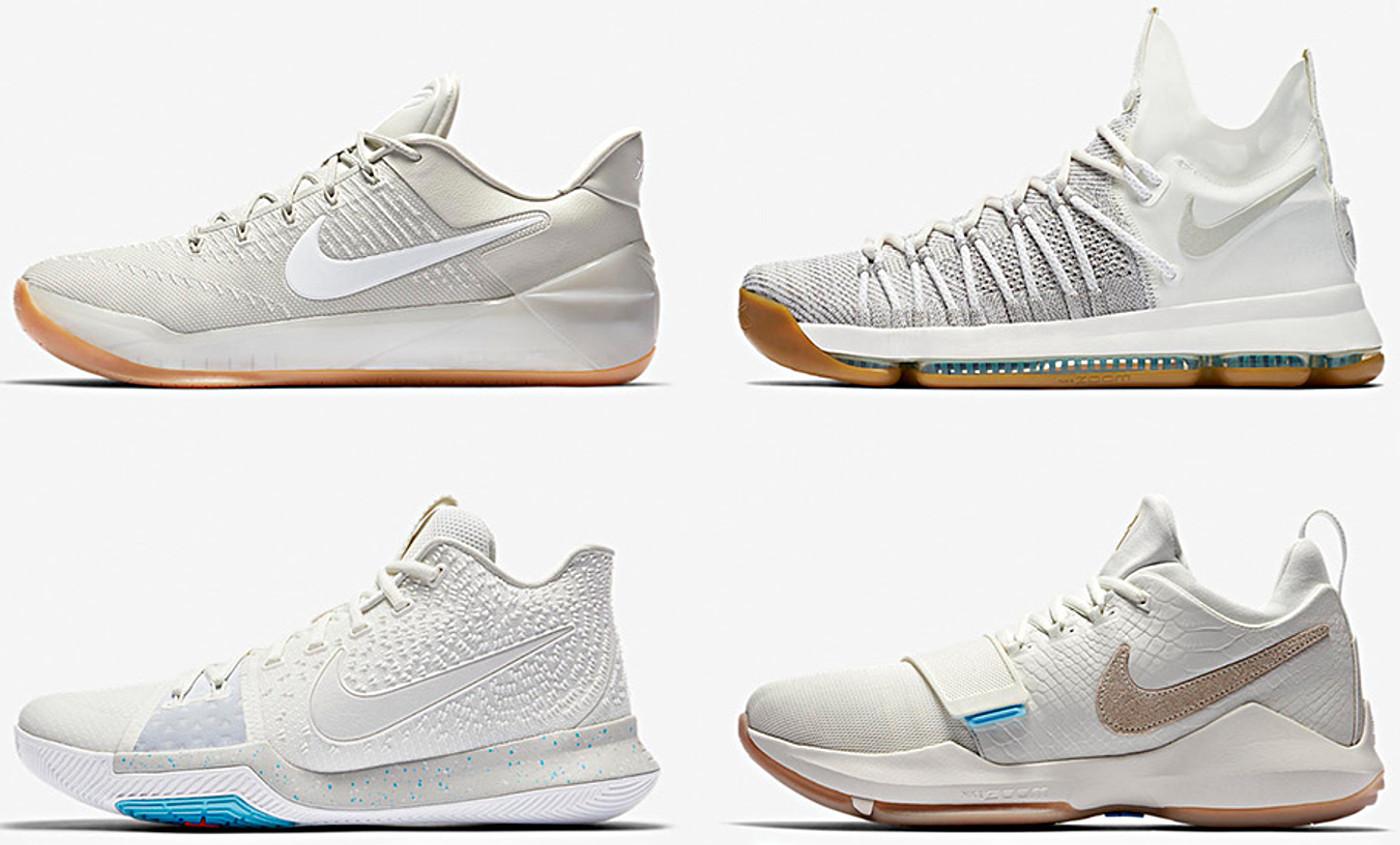 Kyrie, Kobe, KD et PG mettent leurs shoes en mode estival